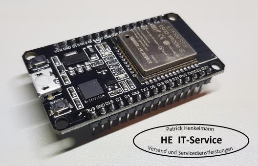ESP32 WROOM-32 Wifi WLAN Bluetooth NodeMCU Development Board   Arduino   IoT