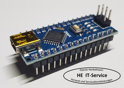 Arduino Atmega328P Nano komp. Board CH340 5V 16MHz Mini USB - defekt